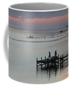 Navarre Beach Sunset Pier 30 Coffee Mug