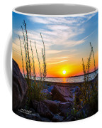 Navarre Fl Sunset 2014 07 29 A Coffee Mug