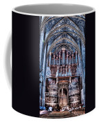 Nave Organ And Paintings Of Saint Cecile Coffee Mug