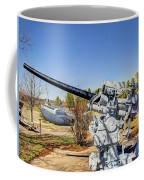 Navel Gun Over Looking Uss Batfish Coffee Mug