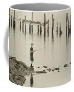 Navrre Beach Sunset Pier 5 Coffee Mug