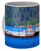 Navy Cover Coffee Mug