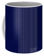 Navy Pinstripe 1 Coffee Mug