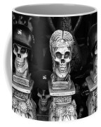 Nazi Helmets Skeletons Elephant Statuary Border Town Nogales Sonora Mexico 1968 Coffee Mug