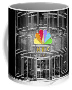 Nbc Facade Selective Coloring Coffee Mug