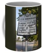 Nc-a39 J.c.b. Ehringhaus Coffee Mug