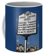 Nc-a43 Mount Lebanon Church Coffee Mug