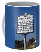 Nc-a54 George W. Brooks Coffee Mug