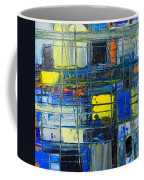 Near The Sunrise - Abstract Original Painting - Abwgc1 Coffee Mug