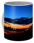 Nebraska Highway Sunset Coffee Mug