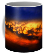 Nebraska Mammatus Sunset Coffee Mug