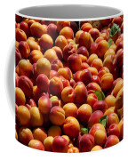 Nectarines For Sale At Weekly Market Coffee Mug