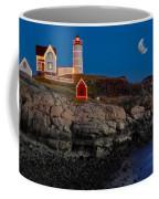 Neddick Lighthouse Coffee Mug by Susan Candelario