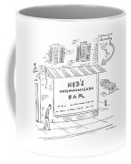 Ned's Incommunicado Bar Advertises A Lack Coffee Mug