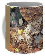 Needles And Leaves Coffee Mug