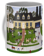 Neighborhood Dog Show Coffee Mug