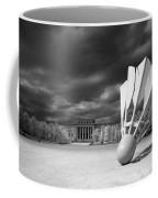 Nelson Akins Art Museum In Infrared Coffee Mug