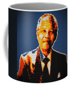 Nelson Mandela Lego Pop Art Coffee Mug