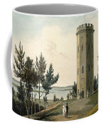 Nelsons Tower, Forres, From A Voyage Coffee Mug