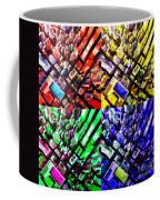Neo Pop Art Urbanscape New York Sky View Coffee Mug