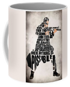 Neo- The Matrix Coffee Mug by Ayse Deniz