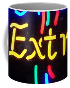 Neon Beer Sign - Extra Coffee Mug