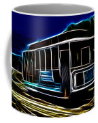 Neon Cable Car Coffee Mug