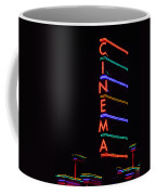 Neon Cinema Coffee Mug
