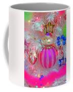 Neon Holiday Tree Coffee Mug