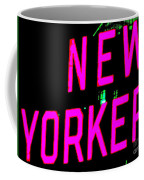 Neon New Yorker Coffee Mug
