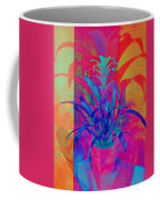 Neon Pineapple Plant - Vertical Coffee Mug