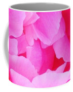 Neon Pink Peony Coffee Mug