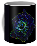 Neon Rose 5 Coffee Mug