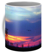 Neon Sunset Coffee Mug