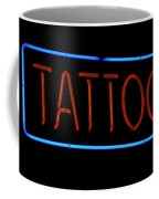 Neon Tattoo Sign Coffee Mug