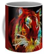 Neon Tiger Coffee Mug