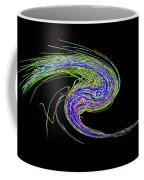 Neon Twirl Coffee Mug