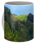 Nepenthe View At Big Sur In California Coffee Mug