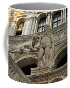 Neptune And The Lion Atop The Giants Staircase Coffee Mug