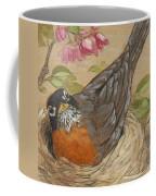 Nesting Robin Coffee Mug