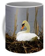Nesting Swan Coffee Mug