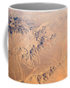 Nevada Mountains Aerial View Coffee Mug
