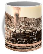 Nevada Northern Railway Coffee Mug by Robert Bales