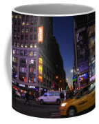 Never Sleeps Coffee Mug