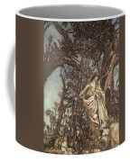Never So Weary Never So Woeful Illustration To A Midsummer Night S Dream Coffee Mug