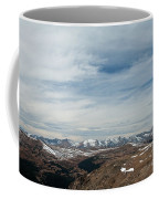 Never Summer Mountains From Rock Cut In Moraine Park Rocky Mountain National Park Coffee Mug