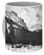 Never Summer Wilderness Area Panorama Bw Coffee Mug