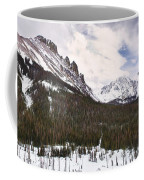 Never Summer Wilderness Area Panorama Coffee Mug