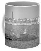 New Bedford Massachusetts Black White Coffee Mug