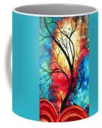 New Beginnings Original Art By Madart Coffee Mug by Megan Duncanson